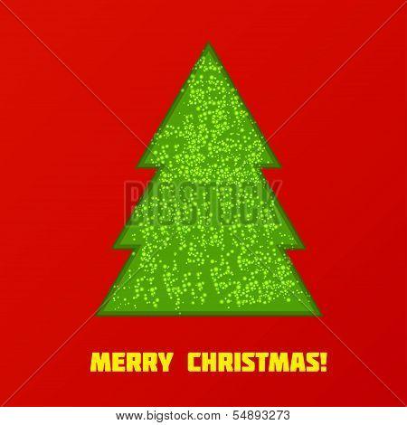 Green Cristmas tree