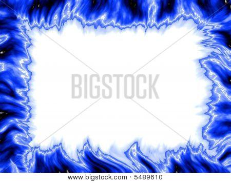 Frame Blue Fire
