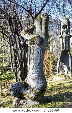 Poranek Sculpture In Zakopane