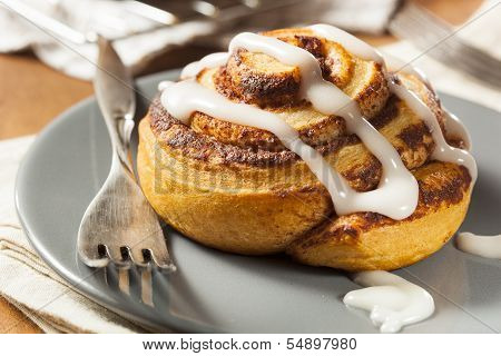Homemade Cinnamon Roll Pastry