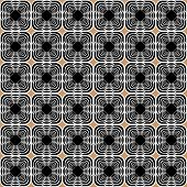 Design Seamless Uncolored Geometric Background