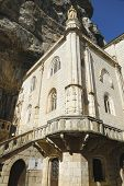 stock photo of chapels  - Notre Dame de Rocamadour chapel in Episcopal City of Rocamadour - JPG