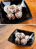 Oatmeal chocolate balls