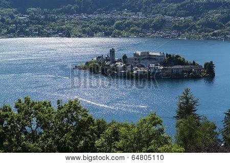Island Of Orta San Giulio, Piedmont