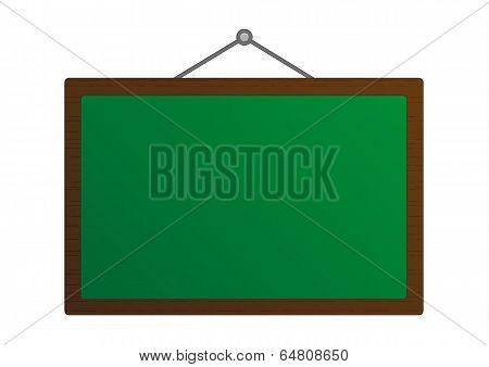 Green Board Illustration