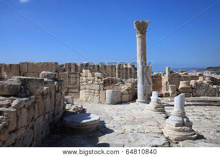 Roman ruins, Kourion, Cyprus