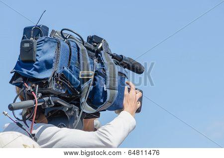 Tv Cameraman