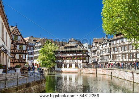 STRASBOURG, FRANCE - APRIL 16: District