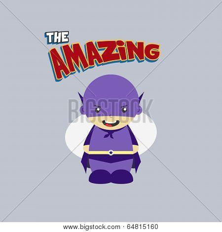 amazing cartoon character