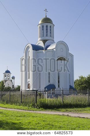 The Church Of Dormition Of The Mostholy Mother Of God