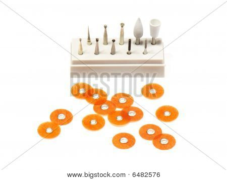 Dental Burs And Polish Disks