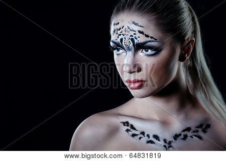 Girl Snow Leopard