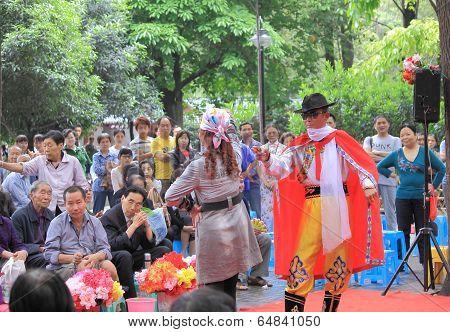 Chinese Fashion show Chengdu