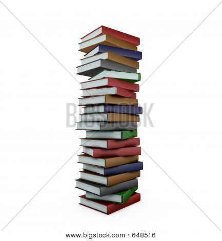 Huge Stack Of Books