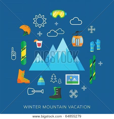Winter Vacation Flat Vector Icon Set.jpg