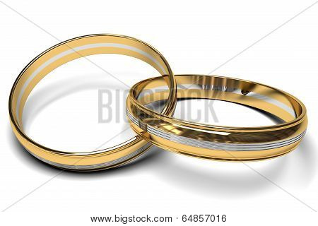 bicolor rings together forever
