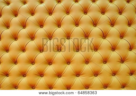 Texture Background Of Genuine Leather Upholstery