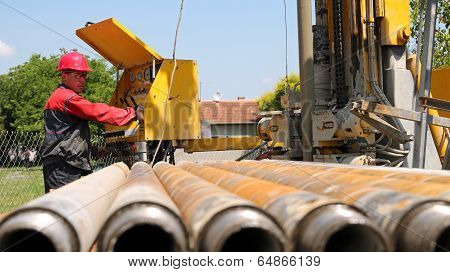Drilling Rig Operator