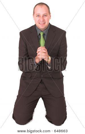 Begging Businessman #3