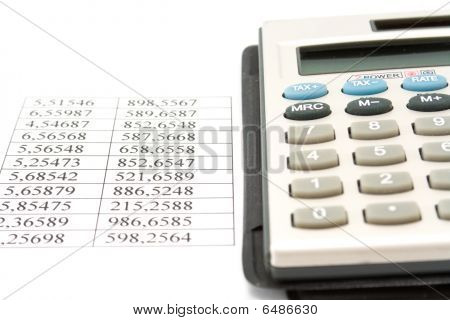 Calculator And Data