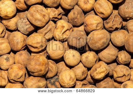 Dried white lime
