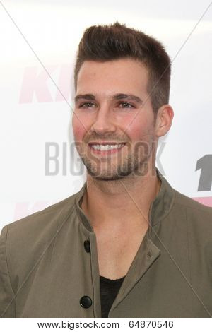 LOS ANGELES - MAY 10:  James Maslow at the 2014 Wango Tango at Stub Hub Center on May 10, 2014 in Carson, CA
