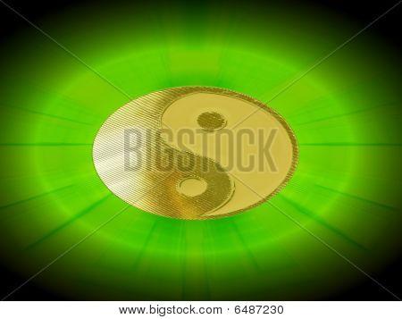 shining yin yang