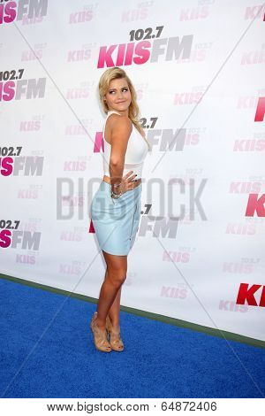 LOS ANGELES - MAY 10:  Witney Carson at the 2014 Wango Tango at Stub Hub Center on May 10, 2014 in Carson, CA