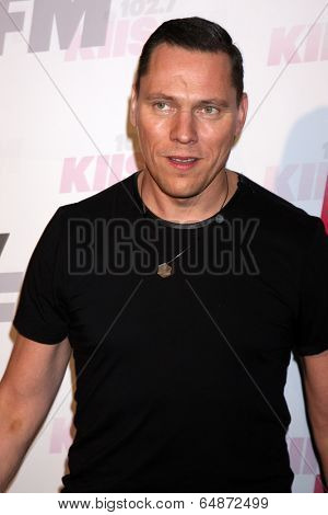 LOS ANGELES - MAY 10:  Tiesto at the 2014 Wango Tango at Stub Hub Center on May 10, 2014 in Carson, CA