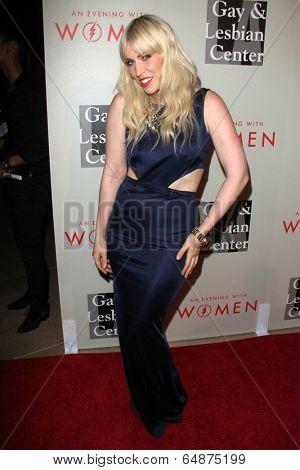 LOS ANGELES - MAY 10:  Natasha Bedingfield at the L.A. Gay & Lesbian Center's
