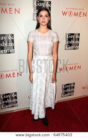 LOS ANGELES - MAY 10:  Maia Mitchell at the L.A. Gay & Lesbian Center's
