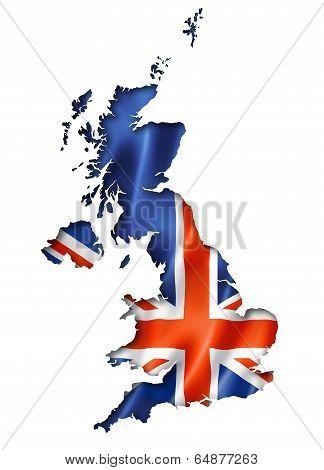 British Flag Map