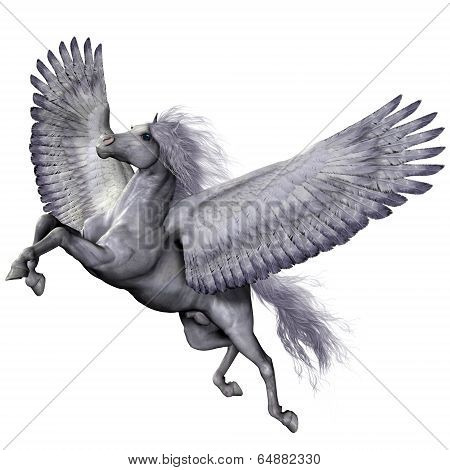Silver Winged Pegasus