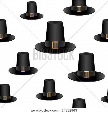 Pilgrim hat background