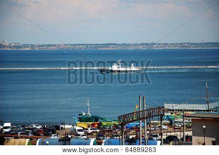 Harbor In Odessa