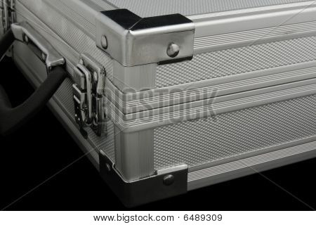 Metal Case. Close Up