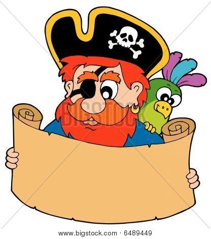 Lendo o mapa do Tesouro do pirata
