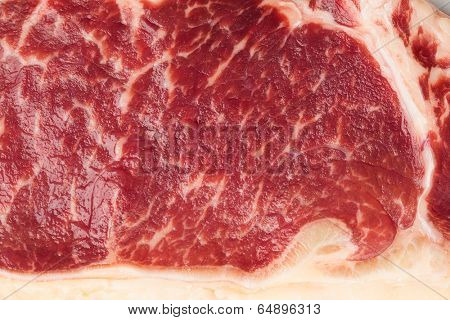 marbled meat texture
