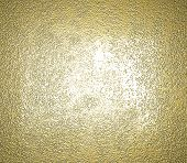 picture of oblique  - gold metal texture background with oblique line of light to decorative greeting card design - JPG