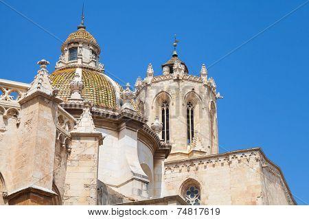The Cathedral Of Tarragona. Roman Catholic Church