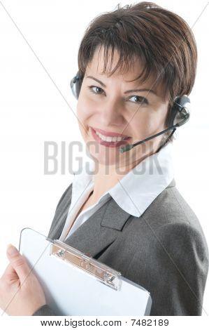 Callcenter woman