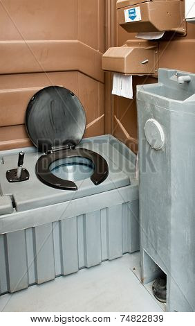Portaloo Interior