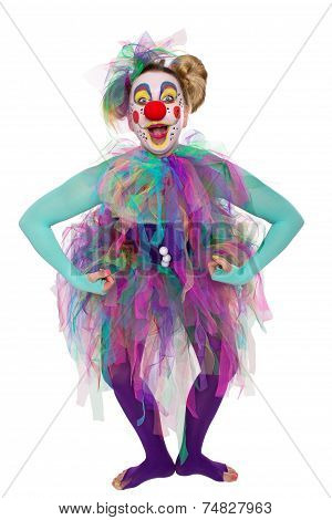 Clown Posing