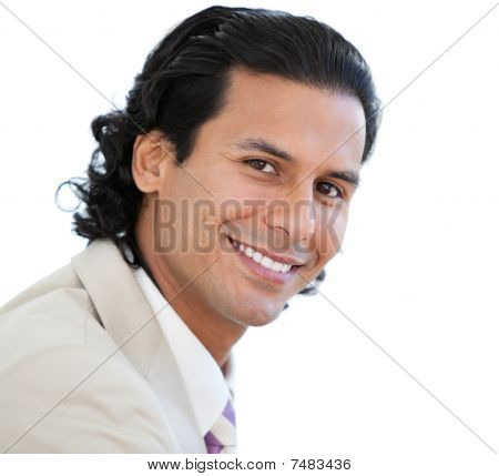 Portrait Of An Attractive Businessman