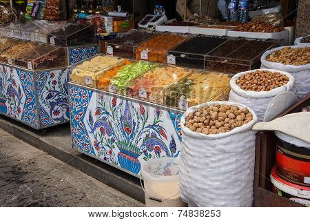 Candied Fruit With Iznik Tile