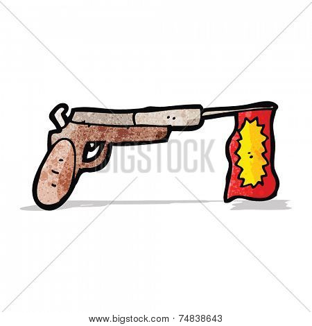 joke gun cartoon