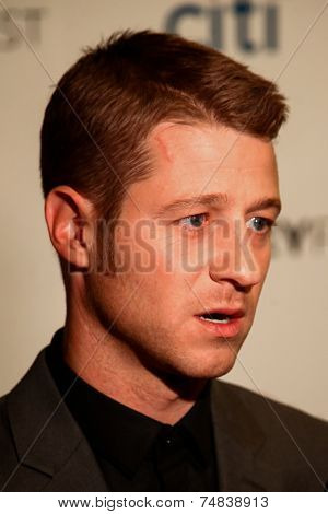 NEW YORK-OCT 18: Actor Benjamin McKenzie attends the 2nd Annual Paleyfest New York Presents: 'Gotham' at Paley Center for Media on October 18, 2014 in New York City.