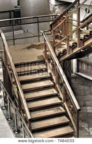 Grunge Stair