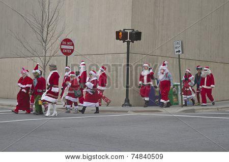 Santa Crossing