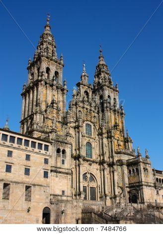 Catedral - Santiago De Compostela, España